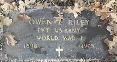 RILEY - MILITARY, OWEN E - Morgan County, Missouri | OWEN E RILEY - MILITARY - Missouri Gravestone Photos