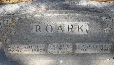 ROARK, MARY E - Morgan County, Missouri | MARY E ROARK - Missouri Gravestone Photos