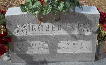 ROBERTS, FREDDIE (TED) - Morgan County, Missouri   FREDDIE (TED) ROBERTS - Missouri Gravestone Photos
