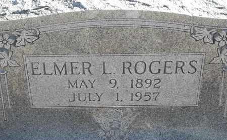 ROGERS, ELMER L - Morgan County, Missouri | ELMER L ROGERS - Missouri Gravestone Photos