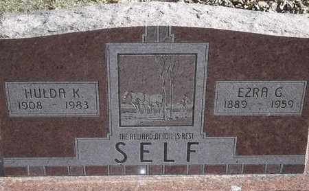 SELF, EZRA G - Morgan County, Missouri | EZRA G SELF - Missouri Gravestone Photos