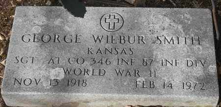 SMITH - MILITARY, GEORGE WILBUR - Morgan County, Missouri | GEORGE WILBUR SMITH - MILITARY - Missouri Gravestone Photos