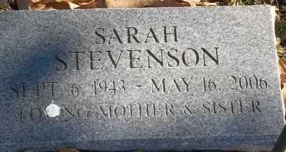 STEVENSON, SARAH - Morgan County, Missouri | SARAH STEVENSON - Missouri Gravestone Photos