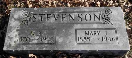 STEVENSON, MARY J - Morgan County, Missouri | MARY J STEVENSON - Missouri Gravestone Photos