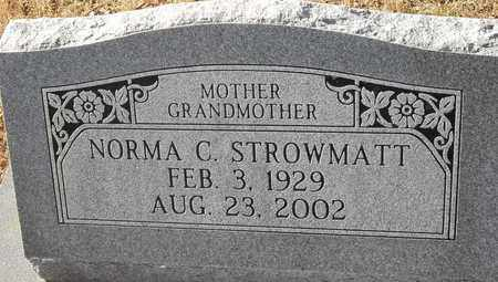 STROWMATT, NORMA C - Morgan County, Missouri | NORMA C STROWMATT - Missouri Gravestone Photos