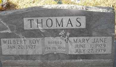 THOMAS, MARY JANE - Morgan County, Missouri | MARY JANE THOMAS - Missouri Gravestone Photos