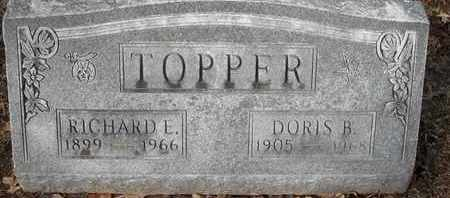 TOPPER, DORIS B - Morgan County, Missouri | DORIS B TOPPER - Missouri Gravestone Photos