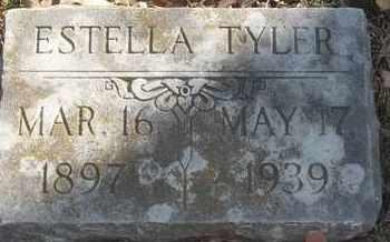 TYLER, ESTELLA - Morgan County, Missouri | ESTELLA TYLER - Missouri Gravestone Photos
