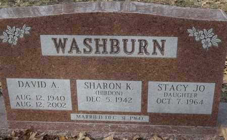 WASHBURN, SHARON K - Morgan County, Missouri | SHARON K WASHBURN - Missouri Gravestone Photos