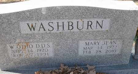 WASHBURN, DDS, W OTHO - Morgan County, Missouri | W OTHO WASHBURN, DDS - Missouri Gravestone Photos