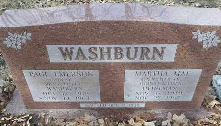 HEINEMAN WASHBURN, MARTHA MAE - Morgan County, Missouri   MARTHA MAE HEINEMAN WASHBURN - Missouri Gravestone Photos