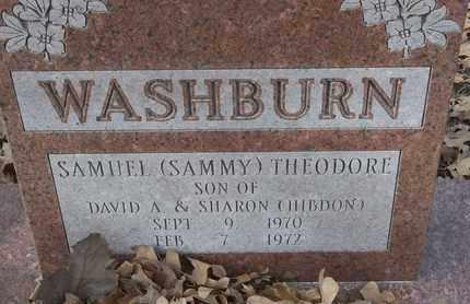 WASHBURN, SAMUEL (SAMMY) THEODORE - Morgan County, Missouri   SAMUEL (SAMMY) THEODORE WASHBURN - Missouri Gravestone Photos