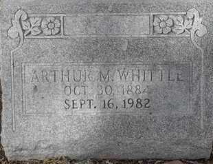 WHITTLE, ARTHUR M - Morgan County, Missouri   ARTHUR M WHITTLE - Missouri Gravestone Photos
