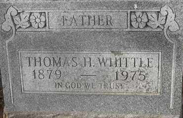 WHITTLE, THOMAS H - Morgan County, Missouri | THOMAS H WHITTLE - Missouri Gravestone Photos