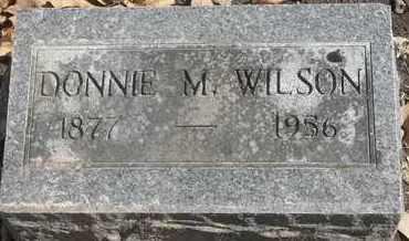 WILSON, DONNIE M - Morgan County, Missouri | DONNIE M WILSON - Missouri Gravestone Photos