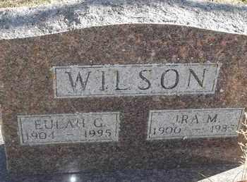 WILSON, IRA M - Morgan County, Missouri | IRA M WILSON - Missouri Gravestone Photos