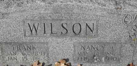 WILSON, NANCY A - Morgan County, Missouri | NANCY A WILSON - Missouri Gravestone Photos