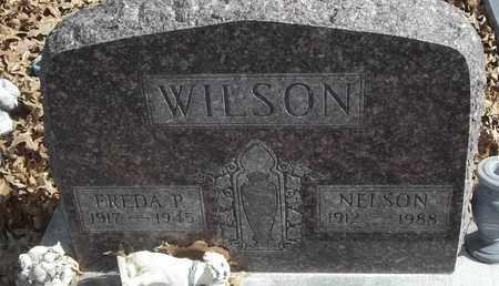 WILSON, NELSON - Morgan County, Missouri | NELSON WILSON - Missouri Gravestone Photos