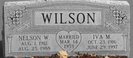 WILSON, NELSON W - Morgan County, Missouri | NELSON W WILSON - Missouri Gravestone Photos