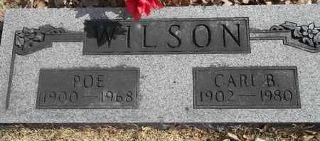WILSON, POE - Morgan County, Missouri | POE WILSON - Missouri Gravestone Photos