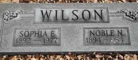 WILSON, SOPHIA E - Morgan County, Missouri | SOPHIA E WILSON - Missouri Gravestone Photos