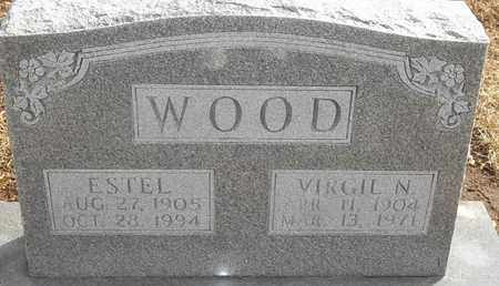 WOOD, ESTEL - Morgan County, Missouri | ESTEL WOOD - Missouri Gravestone Photos