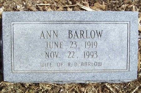 BARLOW, ANN - Newton County, Missouri | ANN BARLOW - Missouri Gravestone Photos