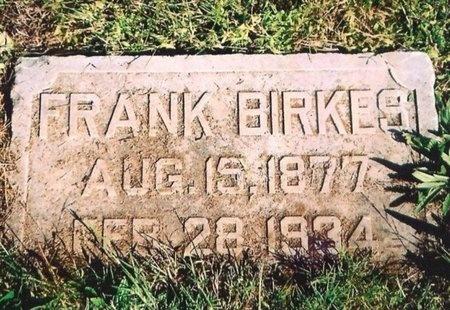 BIRKES, FRANK - Newton County, Missouri | FRANK BIRKES - Missouri Gravestone Photos