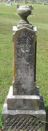DOTY, RALPH - Newton County, Missouri   RALPH DOTY - Missouri Gravestone Photos