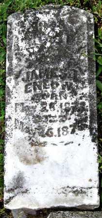 ENLOW, JAMES - Newton County, Missouri | JAMES ENLOW - Missouri Gravestone Photos