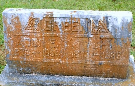GREEN, ADER E - Newton County, Missouri   ADER E GREEN - Missouri Gravestone Photos
