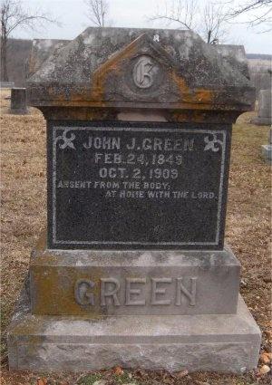 GREEN, JOHN J - Newton County, Missouri   JOHN J GREEN - Missouri Gravestone Photos