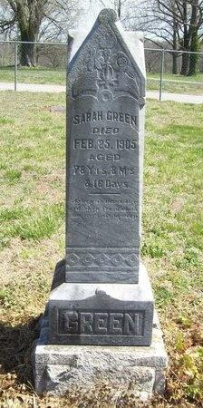 GREEN, SARAH - Newton County, Missouri | SARAH GREEN - Missouri Gravestone Photos