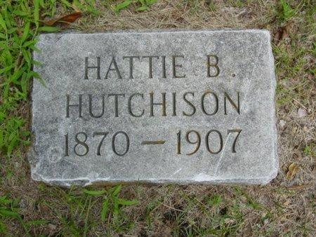 HUTCHISON, HATTIE - Newton County, Missouri | HATTIE HUTCHISON - Missouri Gravestone Photos