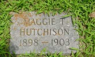 HUTCHISON, MAGGIE T. - Newton County, Missouri | MAGGIE T. HUTCHISON - Missouri Gravestone Photos