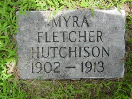 HUTCHISON, MYRA FLETCHER - Newton County, Missouri | MYRA FLETCHER HUTCHISON - Missouri Gravestone Photos