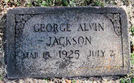 JACKSON, JR, GEORGE ALVIN - Newton County, Missouri   GEORGE ALVIN JACKSON, JR - Missouri Gravestone Photos