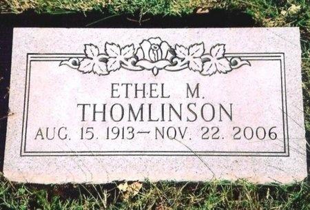 THOMLINSON, ETHEL MAY - Newton County, Missouri | ETHEL MAY THOMLINSON - Missouri Gravestone Photos