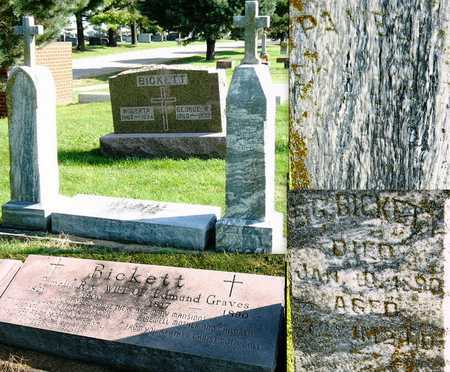 RAY BICKETT, PAMELIA - Nodaway County, Missouri   PAMELIA RAY BICKETT - Missouri Gravestone Photos