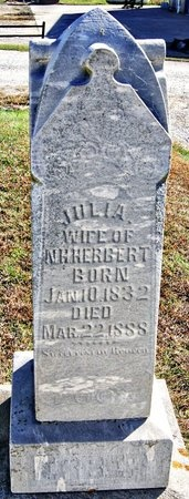 HERBERT, JULIA ANN - Nodaway County, Missouri | JULIA ANN HERBERT - Missouri Gravestone Photos