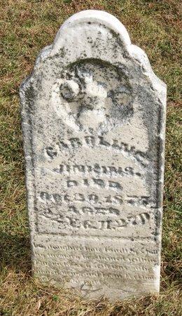 JENKINS, CAROLINE - Nodaway County, Missouri | CAROLINE JENKINS - Missouri Gravestone Photos