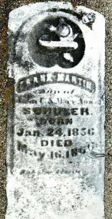 SCHANER?, FRANK MARTIN - Nodaway County, Missouri   FRANK MARTIN SCHANER? - Missouri Gravestone Photos