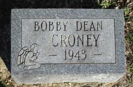CRONEY, BOBBY DEAN - Ozark County, Missouri   BOBBY DEAN CRONEY - Missouri Gravestone Photos
