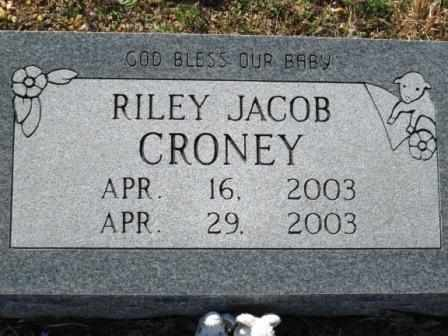 CRONEY, RILEY JACOB - Ozark County, Missouri | RILEY JACOB CRONEY - Missouri Gravestone Photos