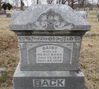 BACK, DAISY - Pemiscot County, Missouri | DAISY BACK - Missouri Gravestone Photos