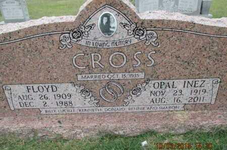CROSS, OPAL INEZ - Pemiscot County, Missouri | OPAL INEZ CROSS - Missouri Gravestone Photos