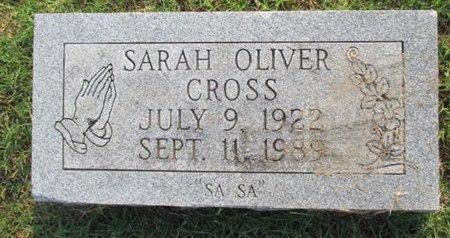 CROSS, SARAH - Pemiscot County, Missouri   SARAH CROSS - Missouri Gravestone Photos