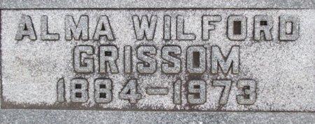 GRISSOM, ALMA - Pemiscot County, Missouri | ALMA GRISSOM - Missouri Gravestone Photos