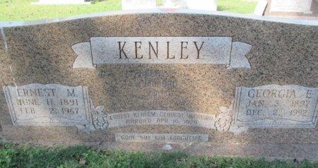 KENLEY, GEORGIA E. - Pemiscot County, Missouri | GEORGIA E. KENLEY - Missouri Gravestone Photos