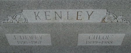 KENLEY, J. DEWEY - Pemiscot County, Missouri | J. DEWEY KENLEY - Missouri Gravestone Photos